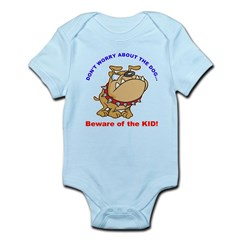 Beware of the Kid Body Suit