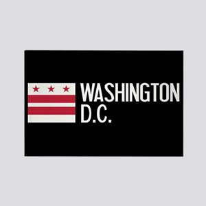 Washington D.C.: Washington D.C. Rectangle Magnet