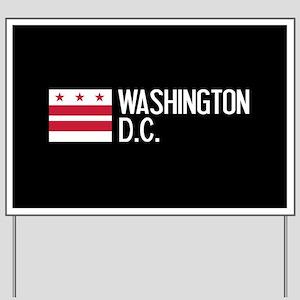 Washington D.C.: Washington D.C. Flag Yard Sign