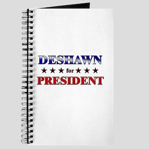 DESHAWN for president Journal