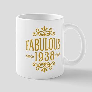 Fabulous Since 1938 Mugs