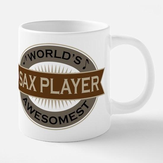 Awesome Sax Player Mugs