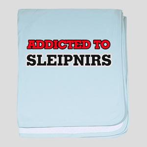 Addicted to Sleipnirs baby blanket