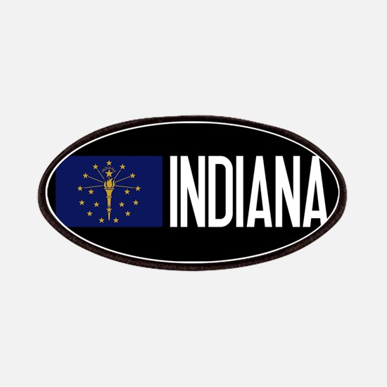 Indiana: Hoosier Flag & Indiana Patch