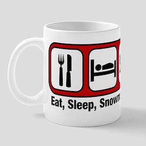 Eat, Sleep, Snowmobiling Mug