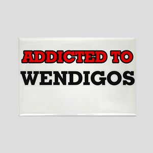 Addicted to Wendigos Magnets