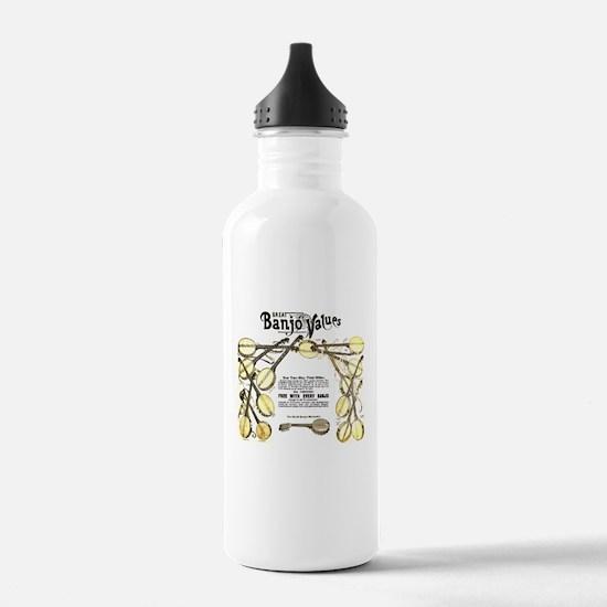 Great Banjo Values Water Bottle