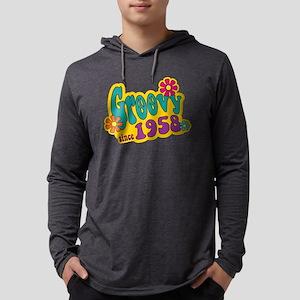 Groovy Since 1958 Long Sleeve T-Shirt
