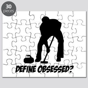 Curling Define Obsessed Puzzle