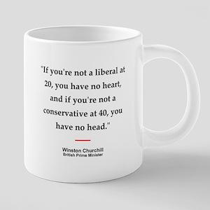 Churchill Quote #1<br> Mugs