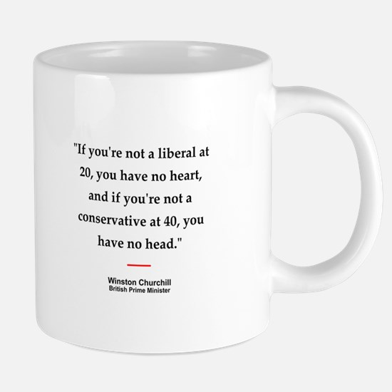 Churchill Quote #1<br> Mugs
