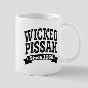 Wicked Pissah Since 1968 Mugs