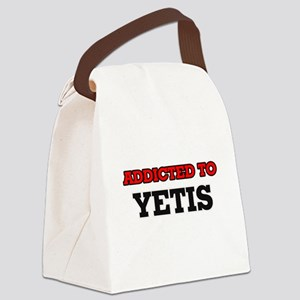 Addicted to Yetis Canvas Lunch Bag