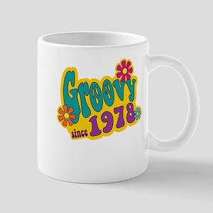 Groovy Since 1978 Mugs
