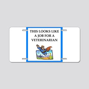 veterinarian Aluminum License Plate