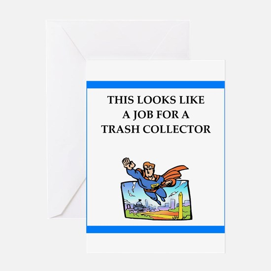 trash Greeting Cards