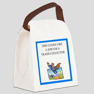 trash Canvas Lunch Bag