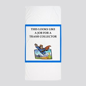 trash Beach Towel