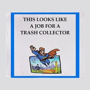 trash Throw Blanket