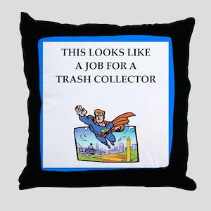trash Throw Pillow