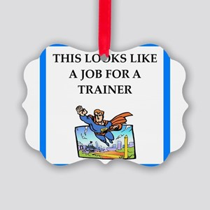 trainer Ornament