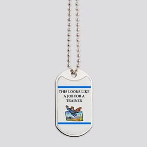 trainer Dog Tags