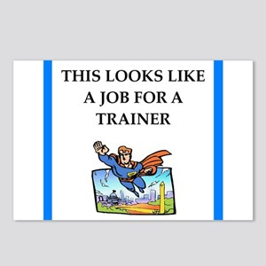 trainer Postcards (Package of 8)