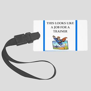 trainer Luggage Tag