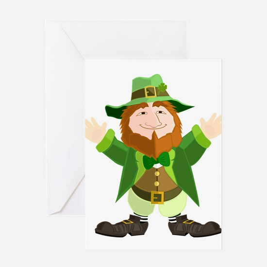 Leprechaun Greeting Cards