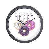 Doughnut Wall Clocks