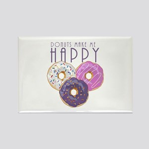 Donuts Make Me Happy Magnets