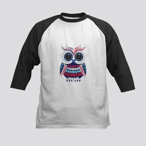 Patriotic Owl Baseball Jersey