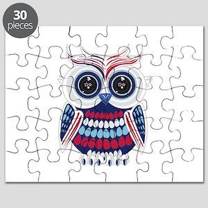 Patriotic Owl Puzzle