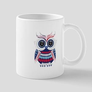 Patriotic Owl Mugs