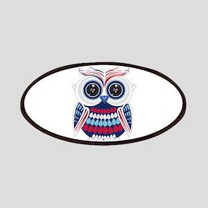 Patriotic Owl Patch