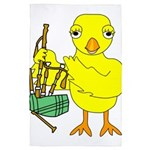 Bagpipe Chick 4' x 6' Rug