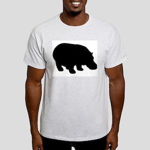 The Hippopotamus Ash Grey T-Shirt