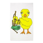 Bagpipe Chick Area Rug