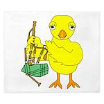 Bagpipe Chick King Duvet