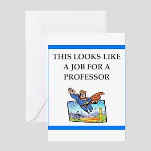 professor Greeting Cards
