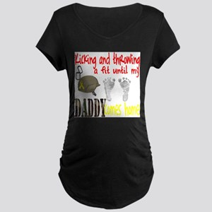 Throwing a Fit Maternity T-Shirt