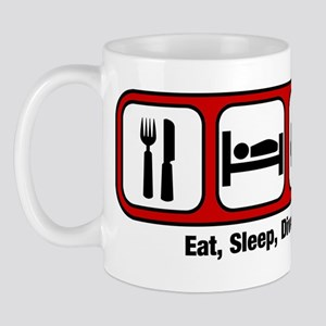 Eat, Sleep, Mens Diving Mug
