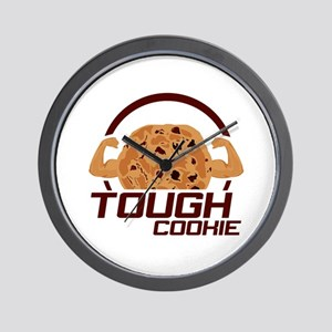 Tough Cookie Wall Clock