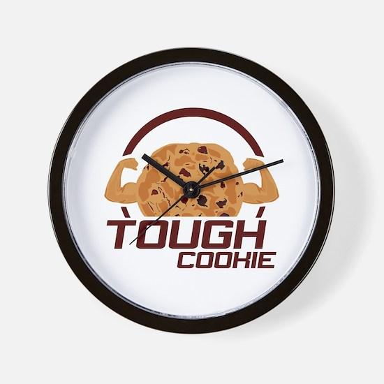 Tough Cookie Wall Clock
