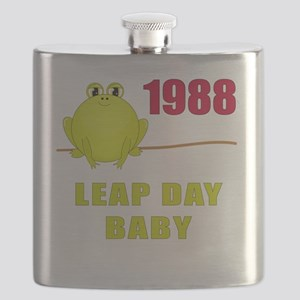 Leap Day Baby 1988 Flask