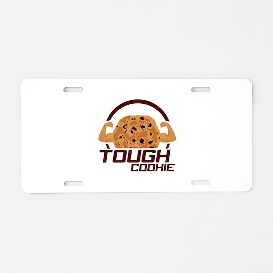 Tough Cookie Aluminum License Plate
