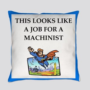 machinist Everyday Pillow