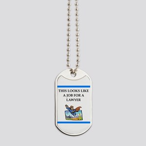 lawyer Dog Tags