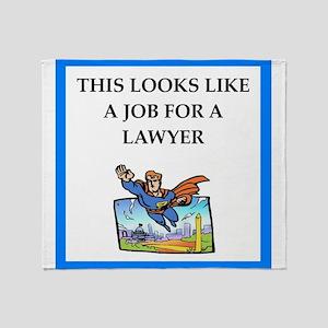 lawyer Throw Blanket