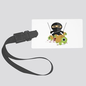 Ninja and Turtles Large Luggage Tag